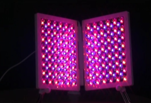 red blue infrared light therapy