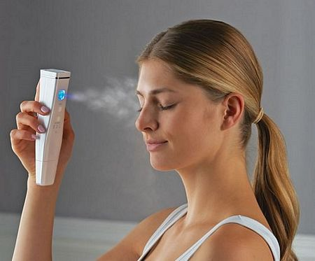 mist face with ultrasonic face scrubber