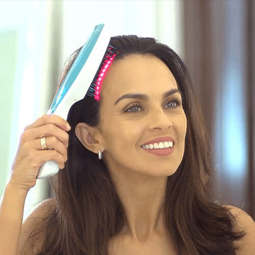 using-electric-comb-for-hair-growth