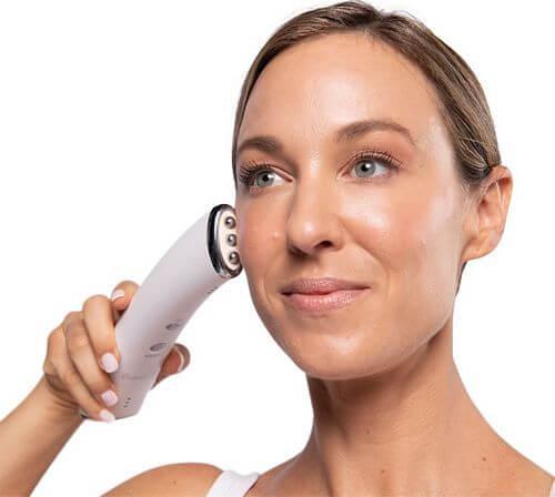 microcurrent facial toning device