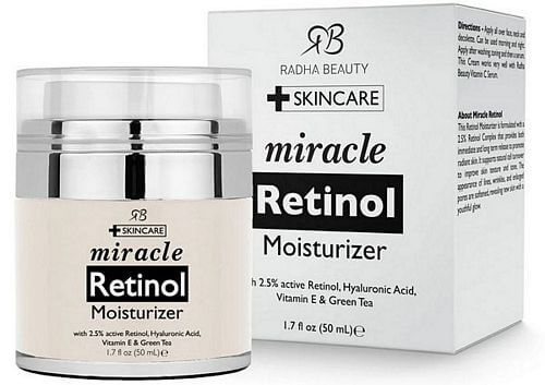 retinol moisturizer for face