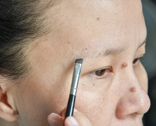 how to fix too thin eyebrows