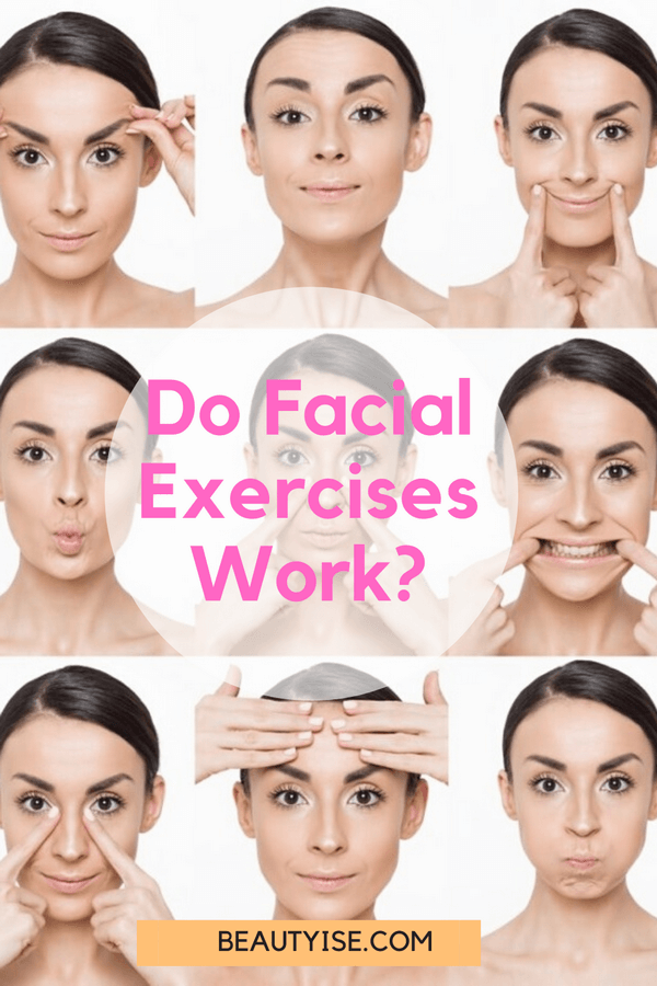 are facial exercises effective