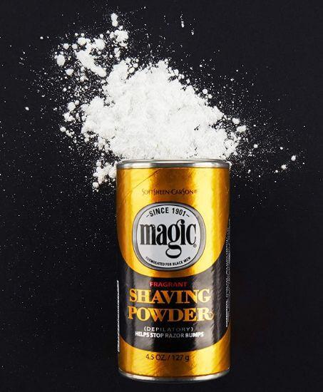magic shaving powder review