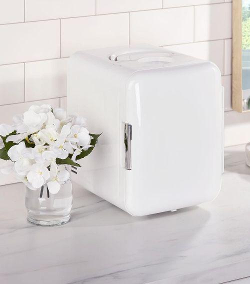 mini skincare fridge